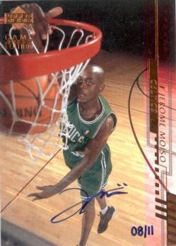 2000-01 Upper Deck #251 Jerome Moiso BUY BACK