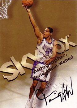 1998-99 SkyBox Premium Autographics #1 Tariq Abdul-Wahad