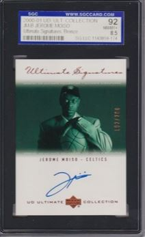 2000-01 Ultimate Collection Signatures Bronze #JMB Jerome Moiso