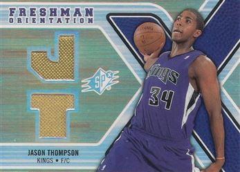 2008-09 SPx Freshman Orientation #FOJT Jason Thompson