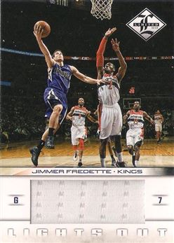 2012-13 Limited Lights Out Materials #45 Jimmer Fredette