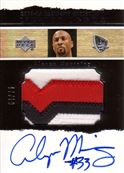 Alonzo Mourning Autographs PC
