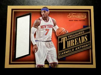 2013-14 Timeless Treasures Treasured Threads #23 Carmelo Anthony