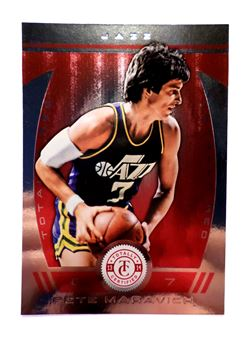 2013-14 Totally Certified Red #267 Pete Maravich
