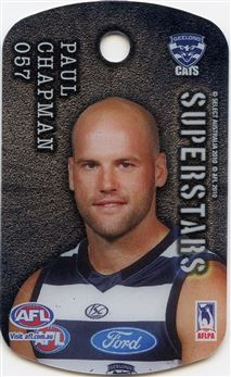 2010 Select Tags AFL All-Stars #057 Paul Chapman Superstars