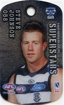 2010 Select Tags AFL All-Stars #058 Steve Johnson Superstars