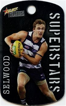 2010 Select Tags AFL All-Stars #059 Joel Selwood Superstars