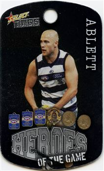 2010 Select Tags AFL All-Stars #060 Gary Ablett Heroes Of The Game