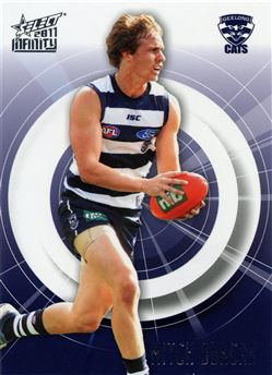 2011 Select AFL Infinity #72 Mitch Duncan