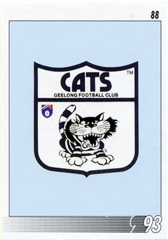 1993 Select AFL Football #88 Geelong Emblem