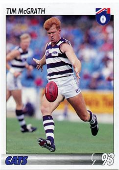1993 Select AFL Football #92 Tim McGrath