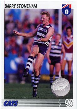 1993 Select AFL Football #93 Barry Stoneham