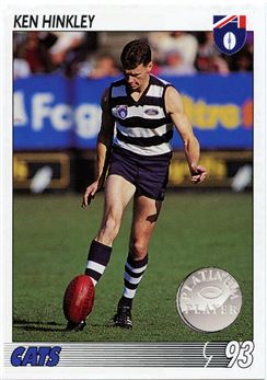 1993 Select AFL Football #95 Ken Hinkley