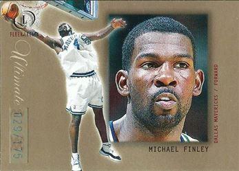 2000-01 Fleer Legacy Ultimate Legacy #17 Michael Finley