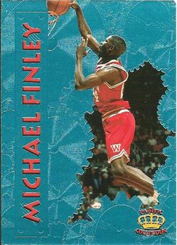 1996 Pacific Power Platinum #13 Michael Finley