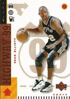 1998-99 Upper Deck Bronze #308 Sean Elliott H99