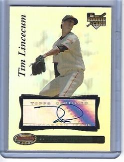 Tim Lincecum 2007 Bowmans Best #93
