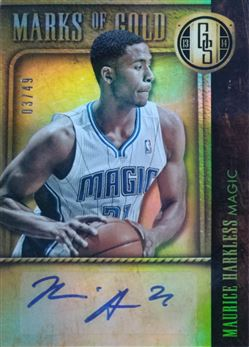 HARKLESS Maurice 2013-14 Panini Gold Standard Marks of Gold # 5 (magic)