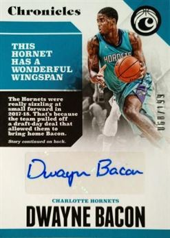 BACON Dwayne 2017-18 Panini Chronicles Autographs # CA-DBC (hornets)