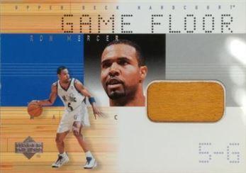 MERCER Ron 2000-01 Upper Deck Hardcourt Game Floor # RM-F (magic)