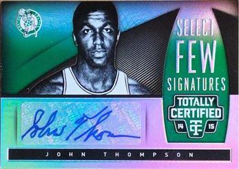 THOMPSON John 2014-15 Totally Certified Select Few Signatures # SF-JT (celtics)