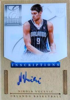 VUCEVIC Nikola 2012-13 Elite Series Rookie Inscriptions Autographs # 38 (magic)