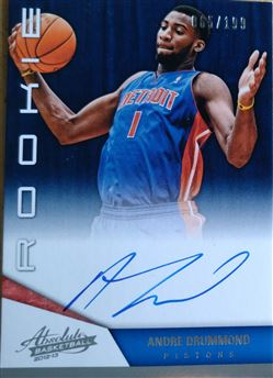DRUMMOND Andre 2012-13 Absolute # 167 (pistons)