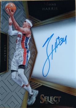 HARRIS Tobias 2016-17 Select Signatures # 37 (pistons)