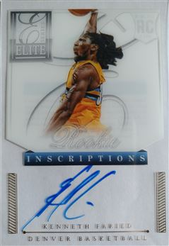 FARIED Kenneth 2012-13 Elite Series Rookie Inscriptions Autographs # 13 (nuggets)