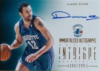 DIVAC Vlade 2012-13 Panini Intrigue Immortalized Autographs # 45