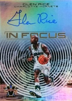 RICE Glenn 2017-18 Panini Vanguard In Focus Autographs # IF-GRC (hornets)