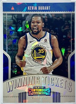 2018-19 Contenders Winning Tickets # 8 Kevin Durant