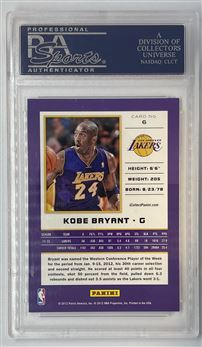 2012 Panini National Convention #6 Wrapper Redemption Kobe Bryant