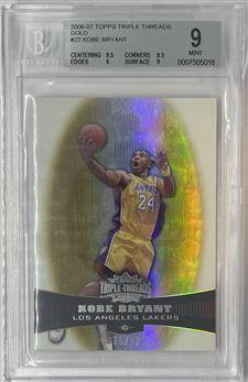 2006-07 Topps Triple Threads #22 Kobe Bryant