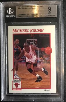 1991-92 Hoops Prototypes 00 #004 Michael Jordan