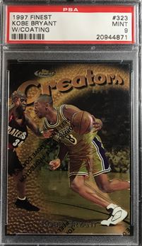 1997 Finest #323 Kobe Bryant