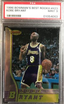 1996-97 Bowman's Best #R23 Kobe Bryant RC