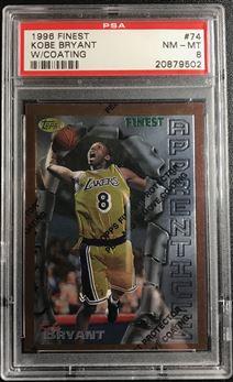 1996-97 Finest #74 Kobe Bryant