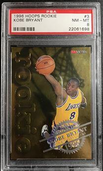 1996-97 Hoops Rookies #3 Kobe Bryant