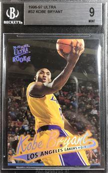 1996-97 Ultra #52 Kobe Bryant