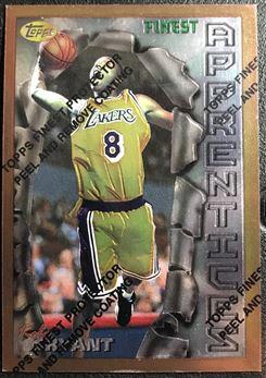 1996-97 Finest #74 Kobe Bryant B RC