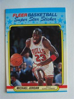 1988 #7 of 11 - SUPER STAR STICKER Fleer