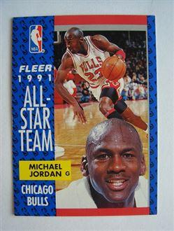 1991 #211 - 1991 ALL-STAR TEAM Fleer