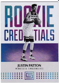 2017-2018 Panini Status Rookie Credentials #39 Justin Patton