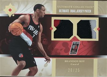 Brandon Roy 06/07 Ultimate Collection Dual Jersey Patch 20/25