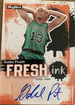 Gabe Pruitt 08/09 Skybox Fresh Ink