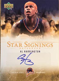 Al Harrington 07/08 Upper Deck Star Signings