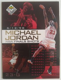 Michael Jordan NBA Finals Shots