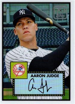2021 Topps - 70 Years of Topps Baseball Chrome - #70YTC-2 - Aaron Judge - New York Yankees
