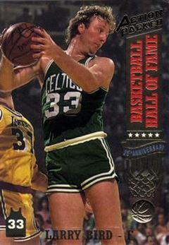 1993 Action Packed Hall of Fame - #20 - Larry Bird - Boston Celtics